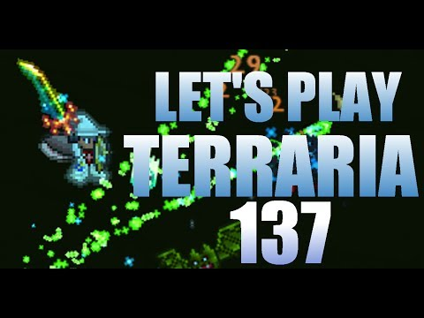 Let's Play Terraria 1.2 Ep. 137 - Building A Frosty Pond Thing