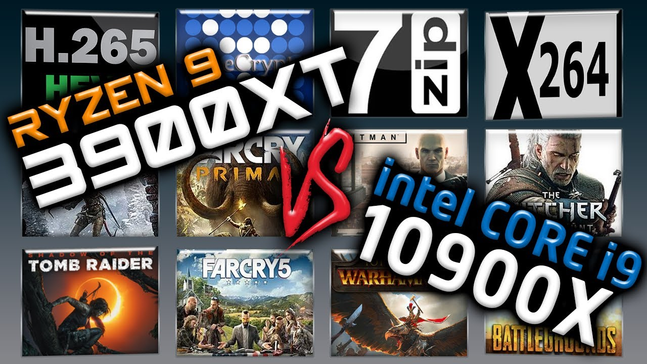 3900XT vs 10900X Benchmarks – 15 Tests 🔥