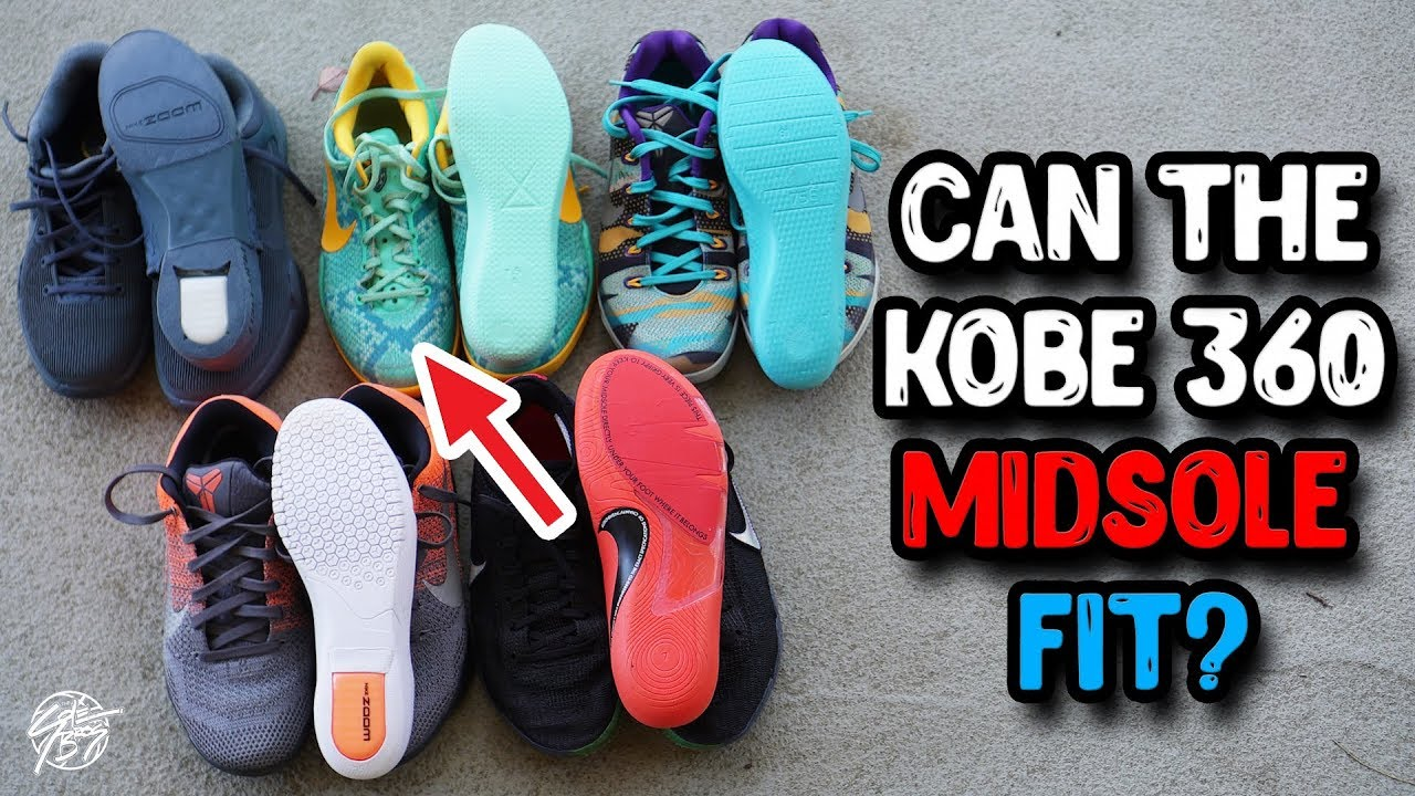 buy popular b442b abba8 Does the Kobe AD NXT 360 Midsole Fit Into Other Kobes??
