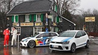 VW Polo R WRC - Serie vs. Rallye