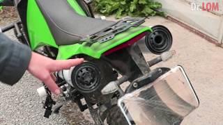 ✅ Тюнинг мотоцикла ИЖ Планета прогрессивная подвеска крашпеды резонатор