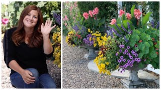 10 Tips on How to Have Success with Your Sun-Loving Annual Containers! 🌿// Garden Answer