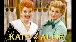 Kate & Allie, Parody of I Love Lucy, Lucille Ball - C. 1987