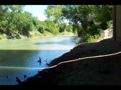 Guadalupe River Victoria, Tx Highway 77 Bridge