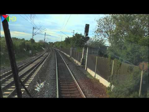 Führerstandsmitfahrt auf der RE 70 Riedbahn von Frankfurt am Main nach Mannheim [HD]