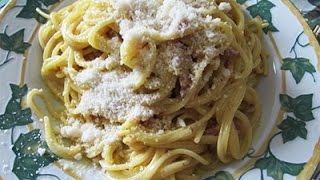 Итальянская кухня. Готовим Pasta alla carbonara. La cucina italiana