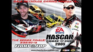 NASCAR 2005: Chase For the Cup | Fight to the Top Playthrough Live #32 (The FInale!)