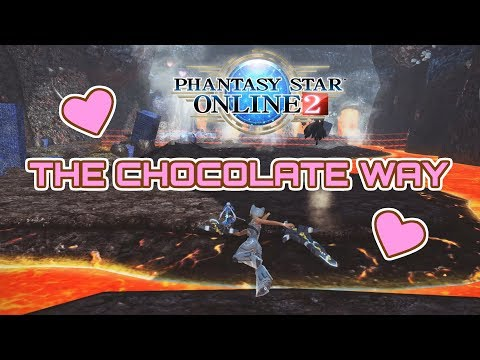 Phantasy Star Online 2 - The Chocolate Way 2020 | Etoile Lv.95 Gameplay