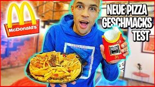 ich teste die neue McDonalds PIZZA !! **WELTNEUHEIT**