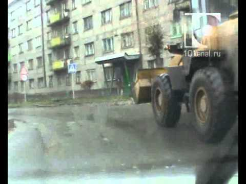 Тракторист удирал от полицейских через весь Запсиб
