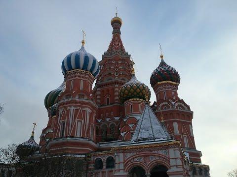 Фото с Красной площади, Собора Василия Блаженного и ГУМа