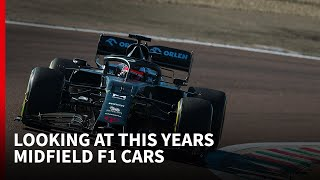 F1 midfield contenders for 2020