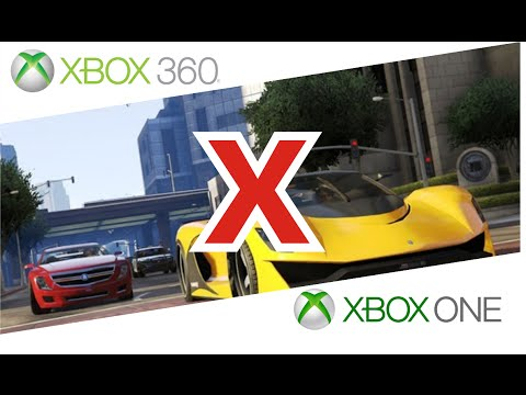 gta 5 comparativo gr fico xbox 360 vs xbox one youtube. Black Bedroom Furniture Sets. Home Design Ideas