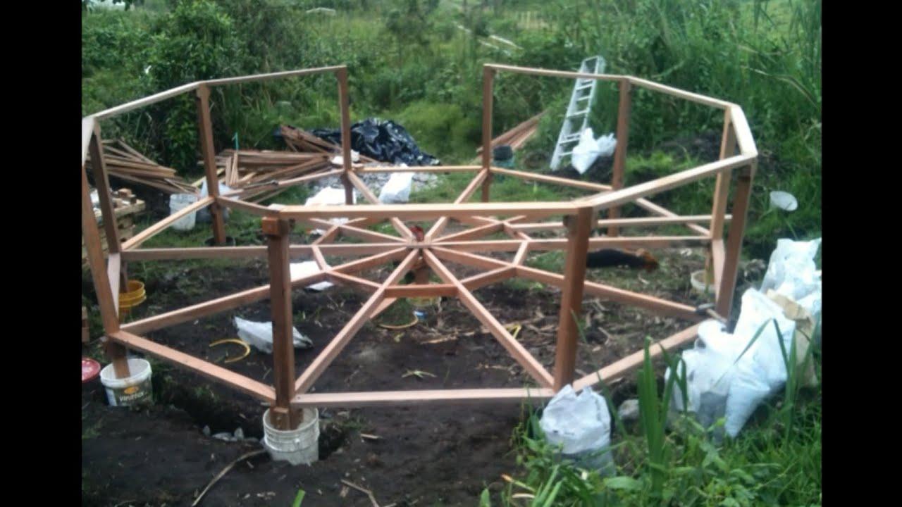 vivienda ecológica autosustentable permacultural - construcción