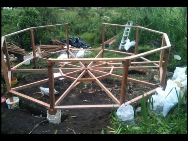 Vivienda Ecológica Autosustentable Permacultural - Construcción Domo Apartaestudio 01