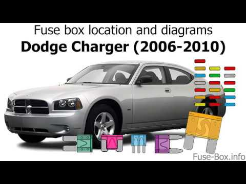 fuse box location and diagrams: dodge charger (2006-2010) - youtube  youtube