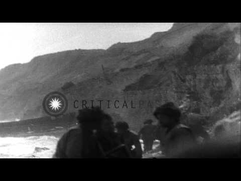 United States Army soldiers of 1st Infantry Division -16th Infantry Regiment, 3rd...HD Stock Footage