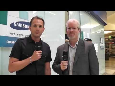Tour of New Samsung Retail Store Vancouver Metrotown