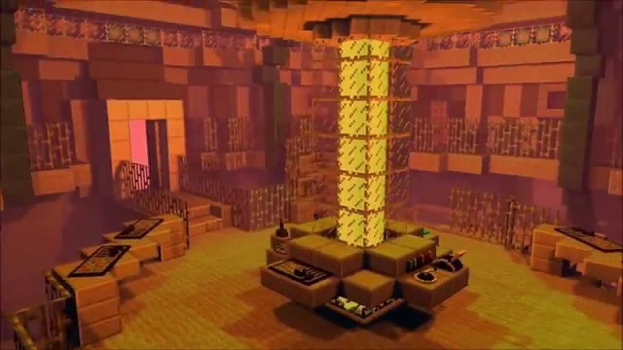 Eleventh doctors Tardis Minecraft Project