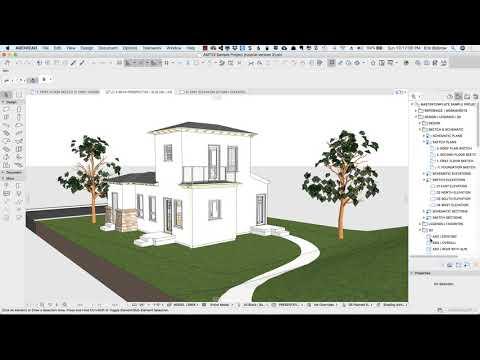 ARCHICAD Design | Views 3 – Lighting Tricks & Surface Studies