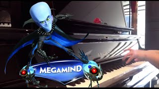 Megamind Theme-{ Falling to his death}- Piano cover