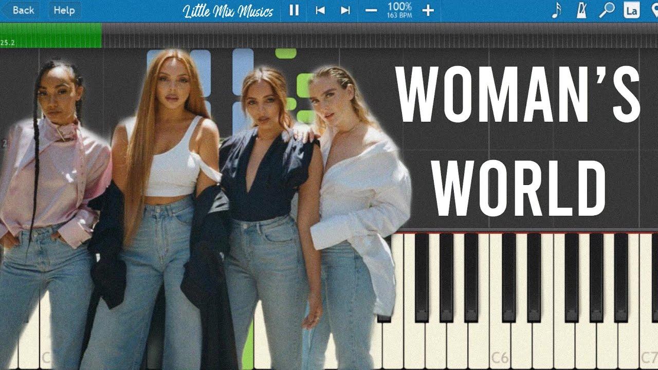 Woman's World - Little Mix (Piano Tutorial)