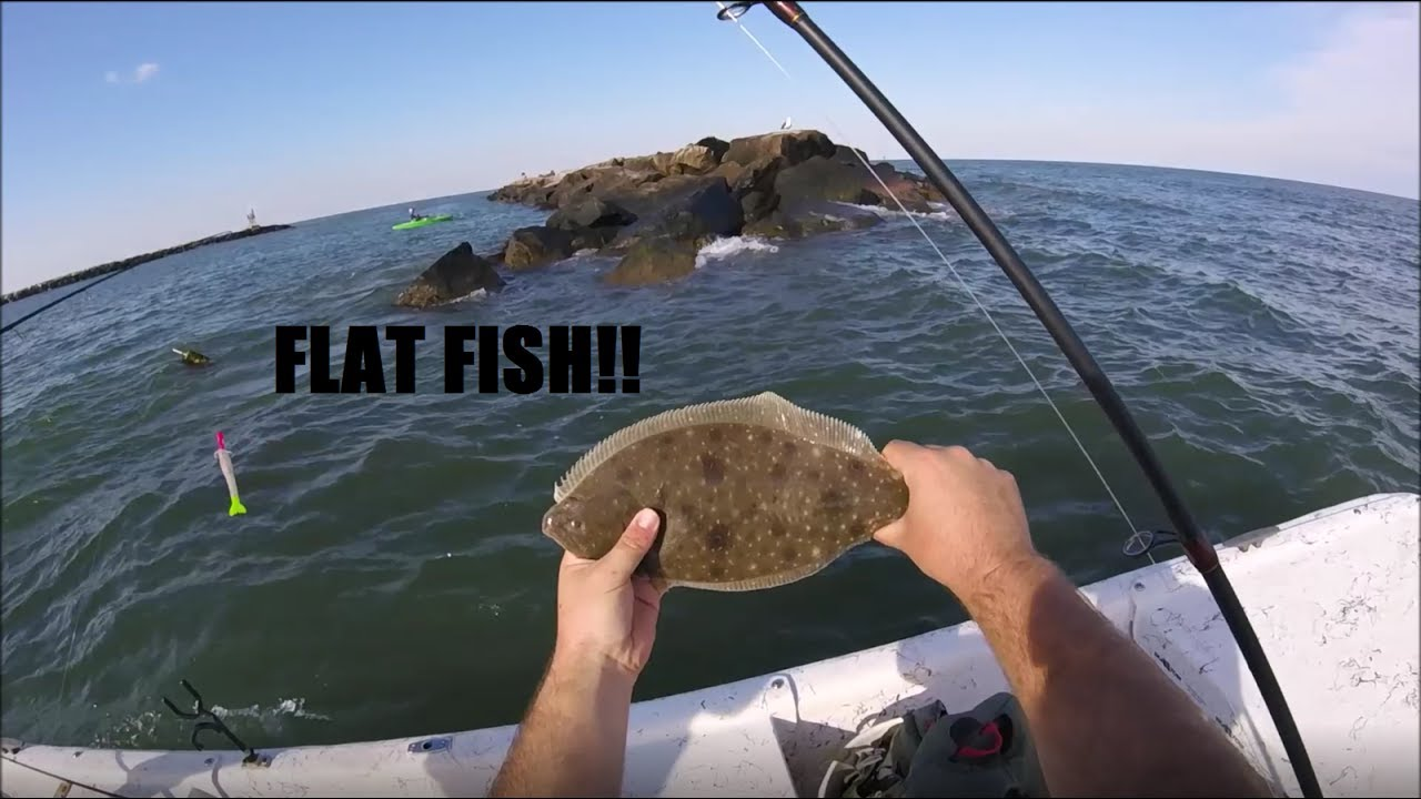 Summer Time Flounder Fishing Virginia Beach Va Rudee Inlet