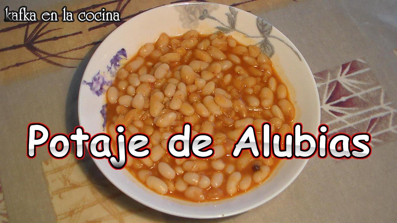 Alubias blancas receta light 100 vegetariana youtube - Calorias alubias cocidas ...