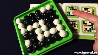 Шарики: Гибкие формы. Обзор настольной игры-головоломки от Игроведа.