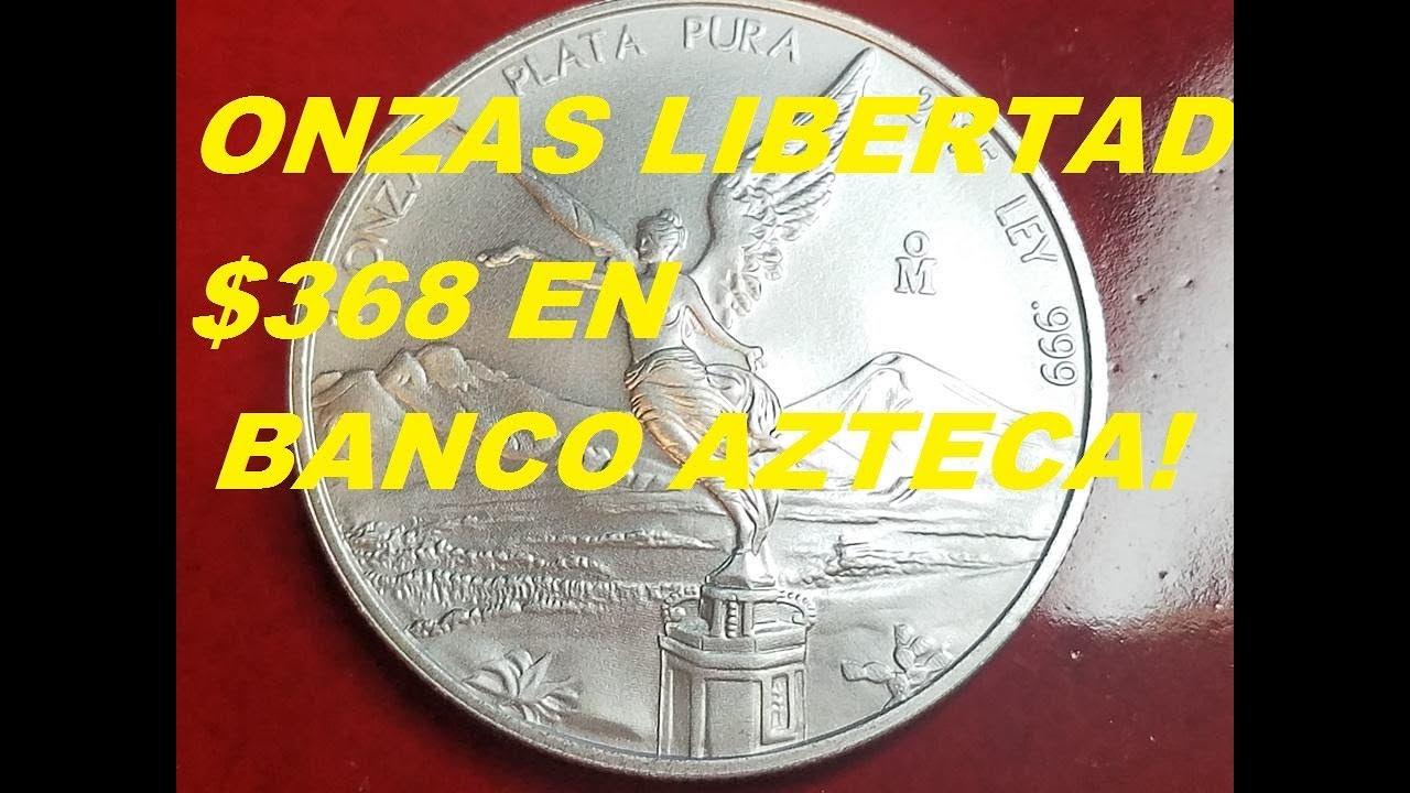 Onza de plata precio 2019 banco azteca