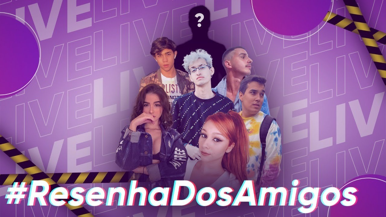 #ResenhaDosAmigos