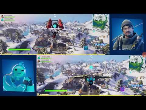 Fortnite | introducing split screen | announce trailer ...