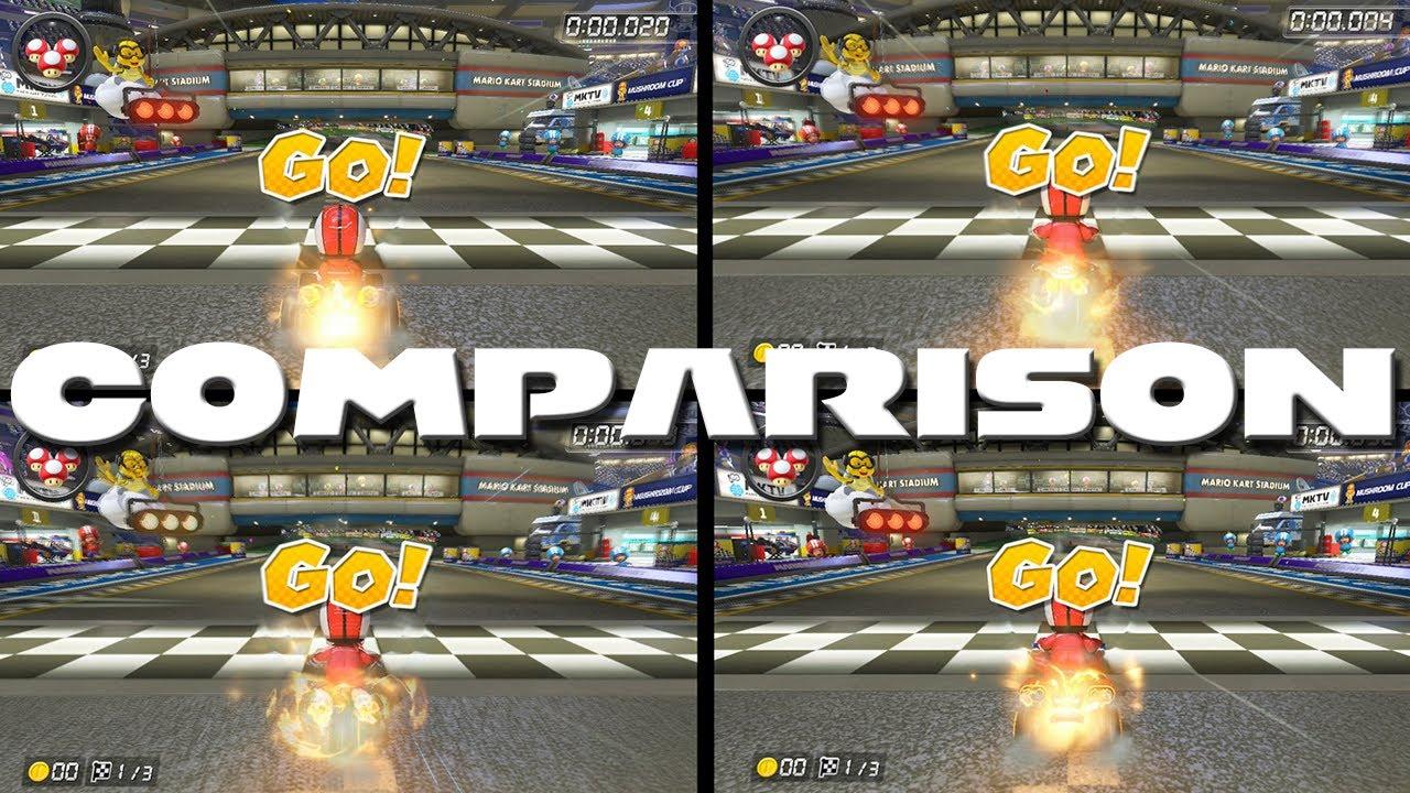 Kart Bike Sports Bike And Atv Comparison Mario Kart 8 Youtube