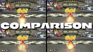 Kart, Bike, Sports Bike and ATV comparison! - Mario Kart 8