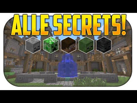BATTLE MODE: ALLE versteckten SECRETs & EASTER EGGs - Minecraft [PS3/PS4]
