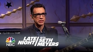 Fred Talks: Message in a Bottle - Late Night with Seth Meyers