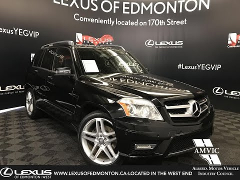 Used Black 2011 Mercedes-Benz GLK-Class GLK 350 Review - Beaumont, Alberta