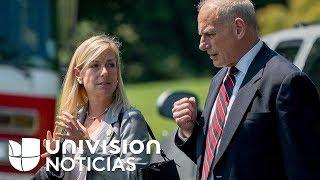 Kirstjen Nielsen, nominada por Trump para liderar el Departamento de Seguridad Nacional