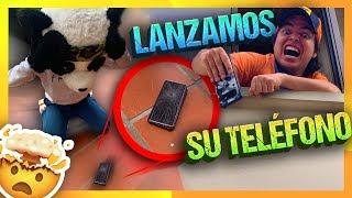 ¡ROMPIMOS SU TELÉFONO! 24 HORAS de BROMAS PESADAS a PANDA - Yolo Aventuras