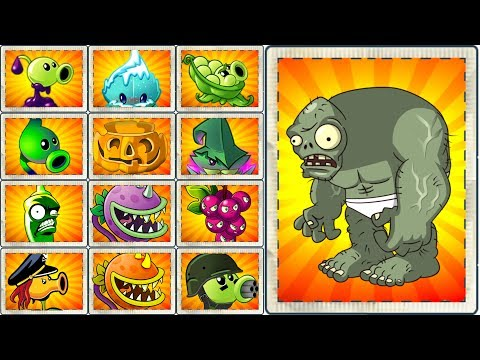 Every Plant Vs Gargantuar Egypt Plants Vs Zombies 2 New Power UPGameplay