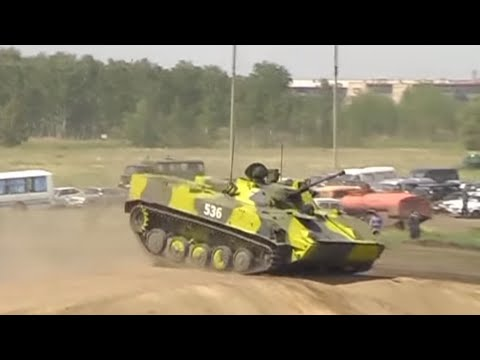 BMD-1 BMD-2 BMD-3 (Omsk. Tank show)