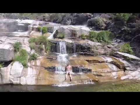 Tahiti Waterfall, Gerês Portugal