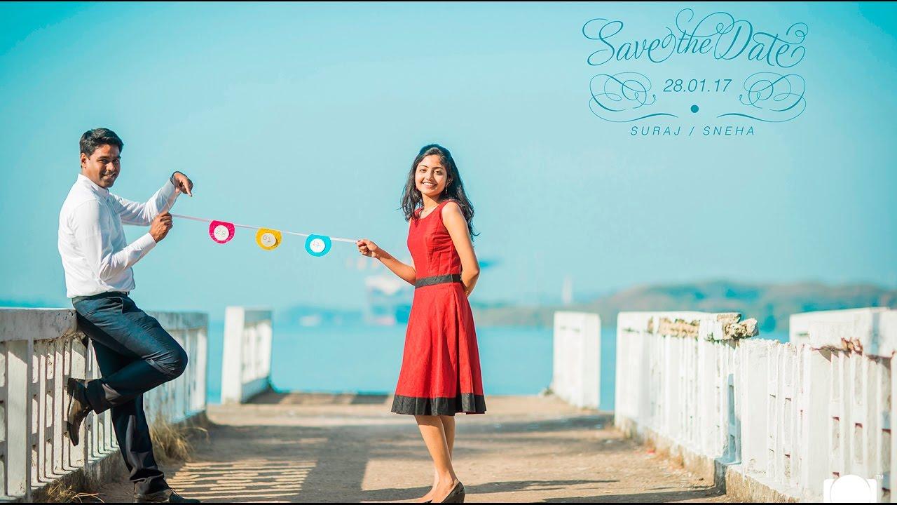 Best Kerala Save the date Pre Wedding Video SURAJ SNEHA YouTube – Wedding Save the Date Video