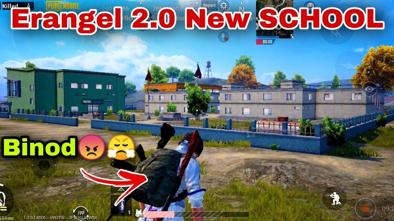 Pubg Mobile Erangel 2.0 New School All changes   Binod Kon hai? 😂