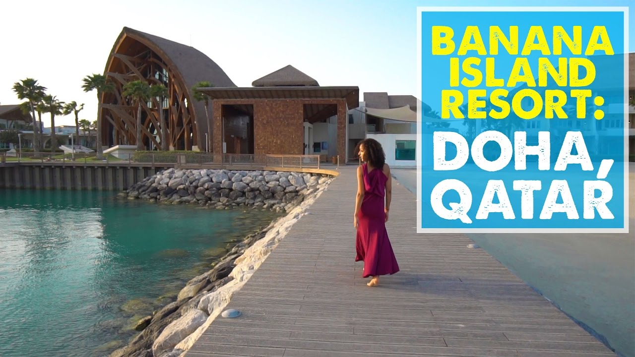 LUXURY LAYOVER IN QATAR! Anantara Banana Island Resort Doha | Qatar Layover  Vlog