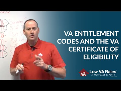 VA Entitlement Codes and the VA Certificate of Eligibility