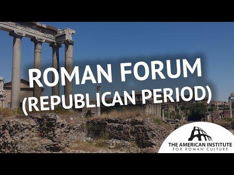 Roman Forum: The Republican Period