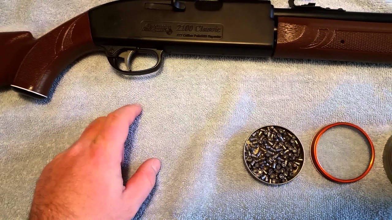 crosman 2100 classic airgun review [ 1280 x 720 Pixel ]