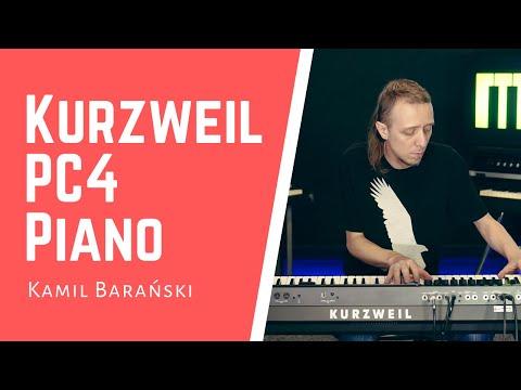 Kurzweil PC4 Piano Muzykuj Kamil Baranski