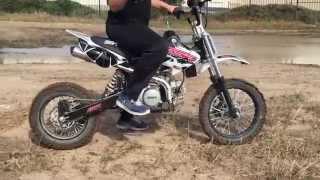 Pit bike mud fun